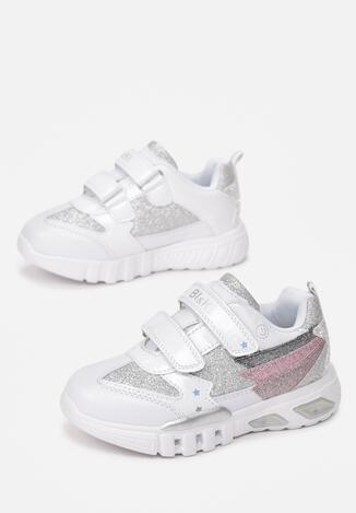Білі Кросівки  з LED підсвіткою
