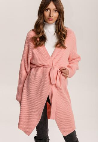 Рожевий Кардиган