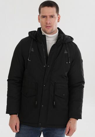 Чорна Куртка з USB підігрівом