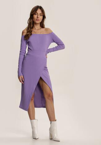 Фіолетовий Повсякденний Комплект