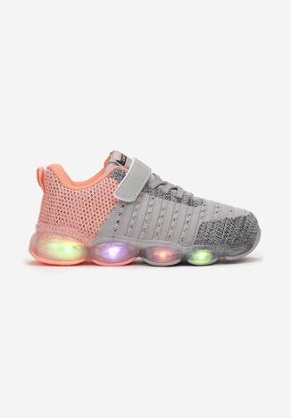 Сірі Кросівки з LED підсвіткою