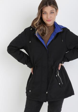 Чорна Двостороння Куртка