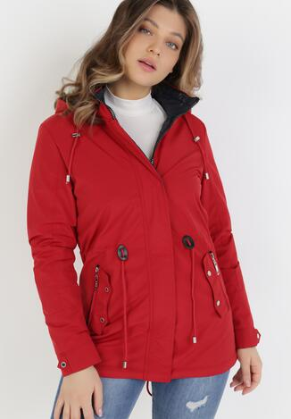 Червона Двостороння Куртка