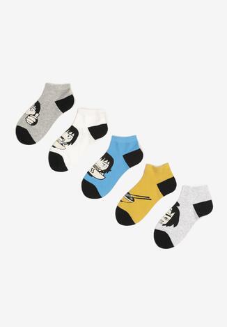 5-Пар Різнокольорових Шкарпеток