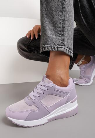 Фіолетові Снікерси