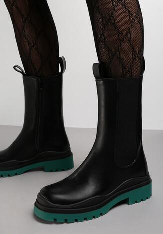 Чорно-Зелені Черевики