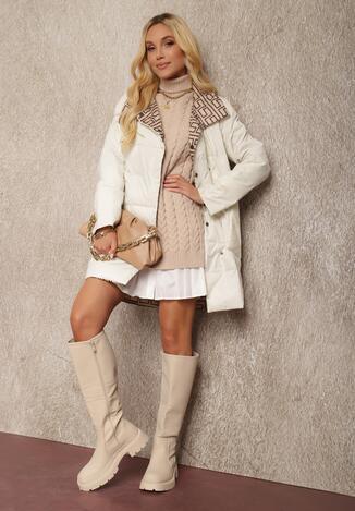 Біла Двостороння Куртка
