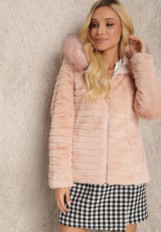 Рожева Двостороння Куртка