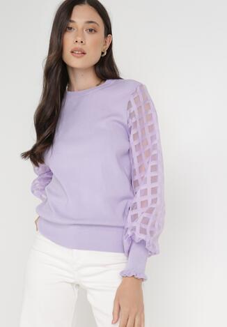Фіолетовий Светр