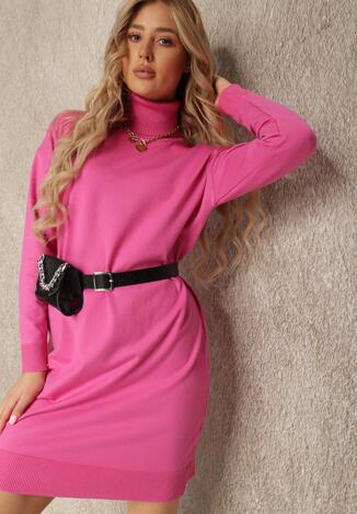 Малинова Сукня з поясом
