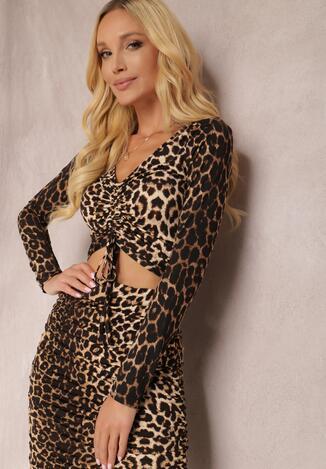 Леопардова Блузка
