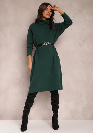 Темно-Зелена Сукня