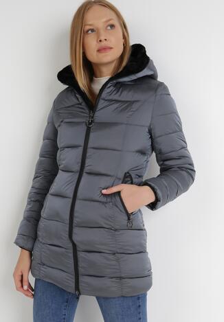 Сіра Двостороння Куртка