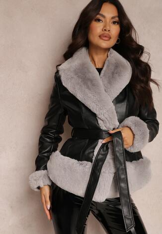 Чорно-Сіра Куртка