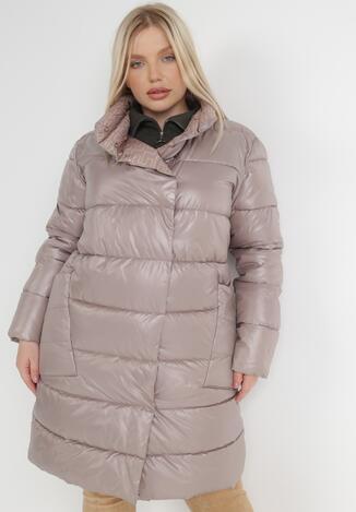 Бежева Двостороння Куртка