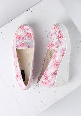 Біло-Рожеві Туфлі