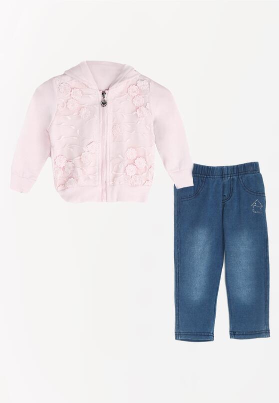 Рожевий Комплект із двох частин