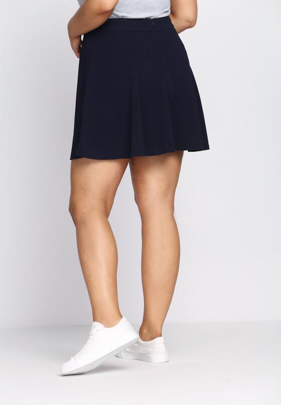 Синя Міні-спідниця