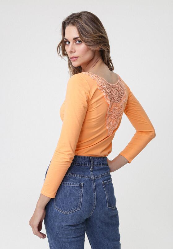 Оранжевий Лонгслів