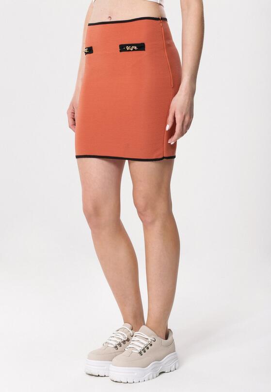 Оранжева Спідниця