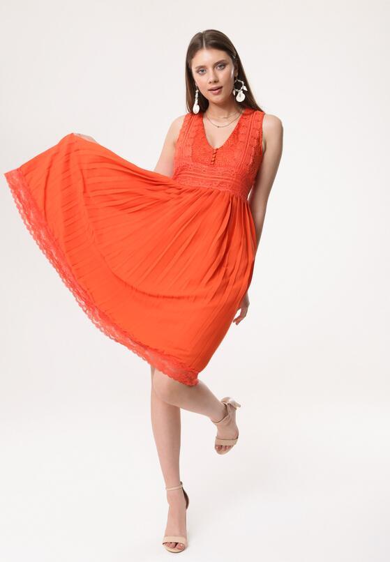 Оранжева Сукня