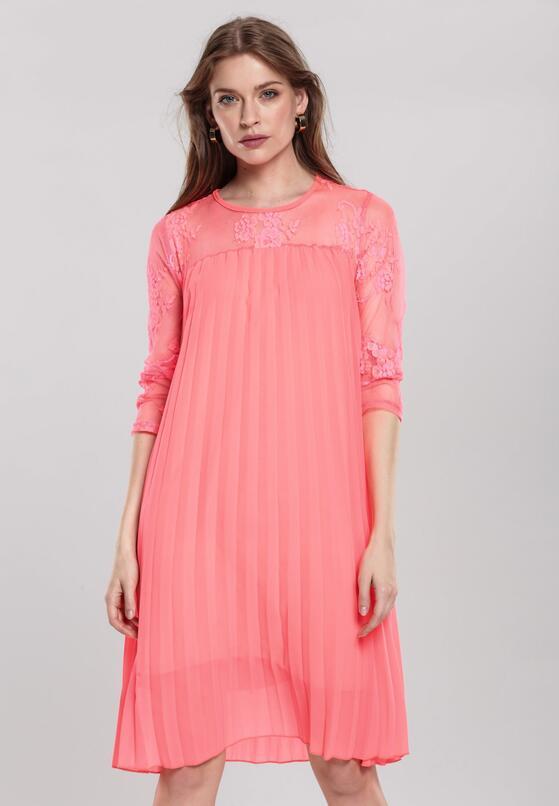 Караловое Платье