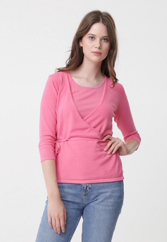 Ясно-Рожевий Лонгслів