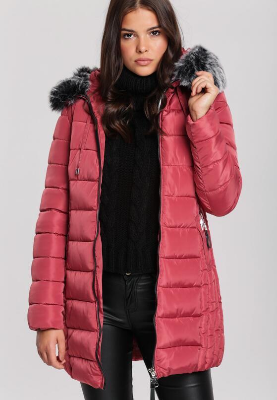 Темно-Червона Куртка