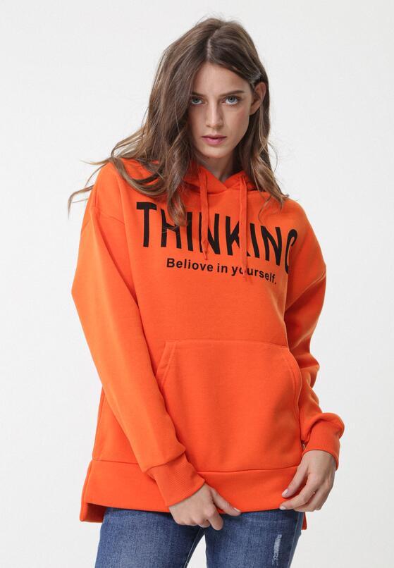 Оранжеве Худі
