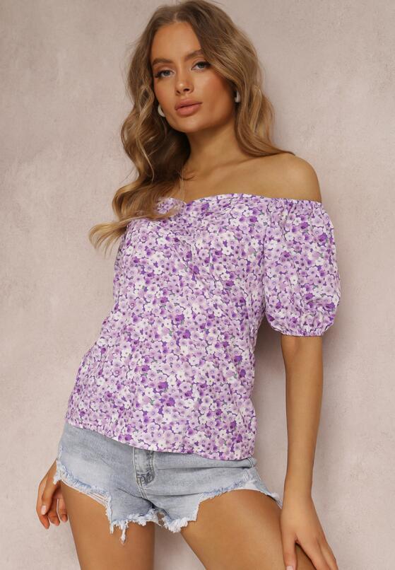 Фіолетова Блузка