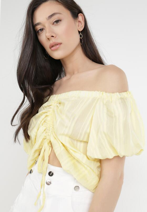 Жовта Блузка