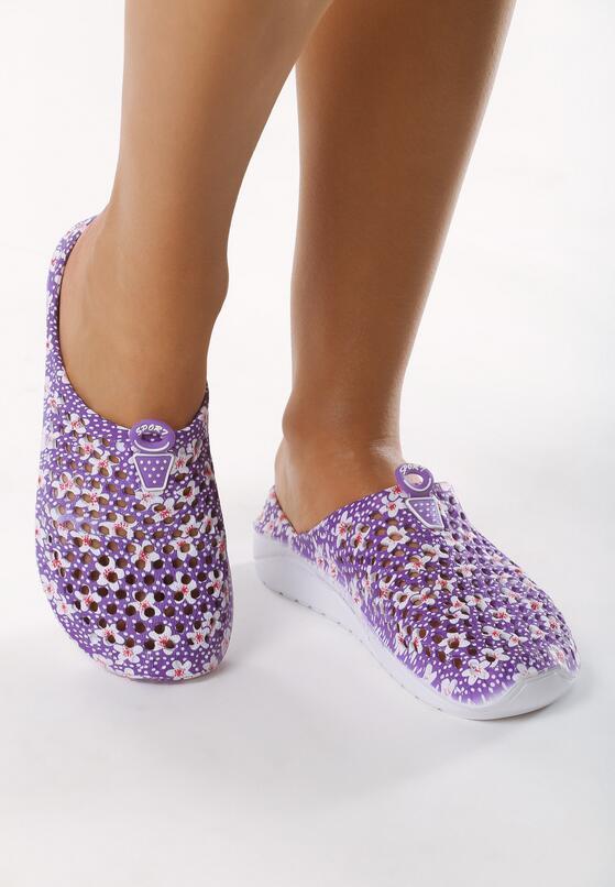 Фиолетовые Шлепанцы