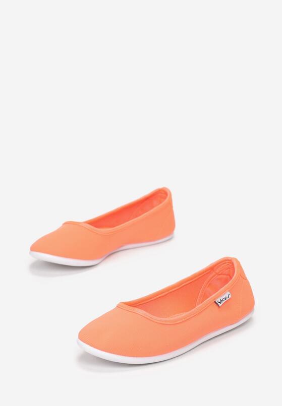Оранжеві Балетки