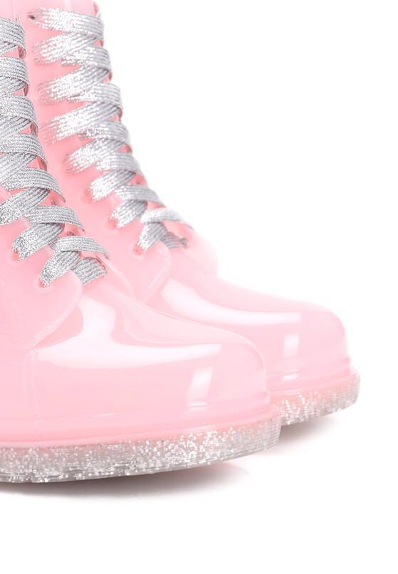 Рожеві Гумові Чоботи