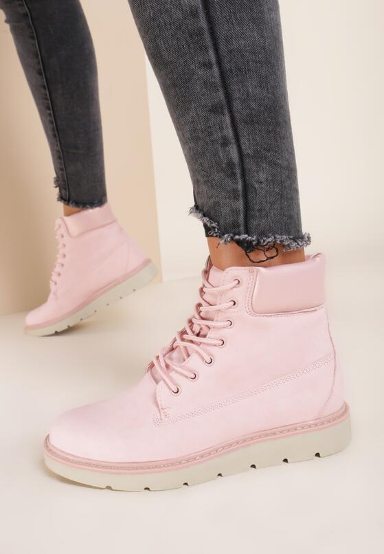 Розовые Ботинки