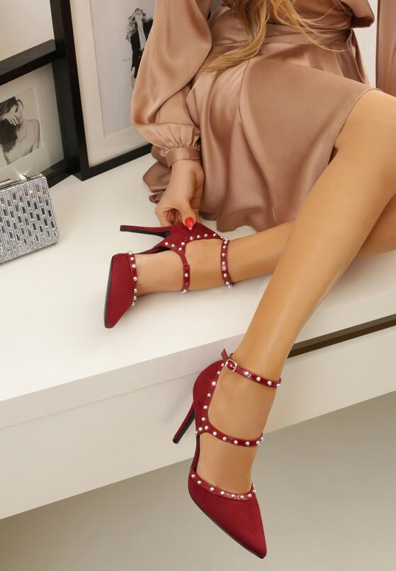 Бордовые Туфли