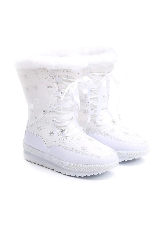 Белые Снегоходы