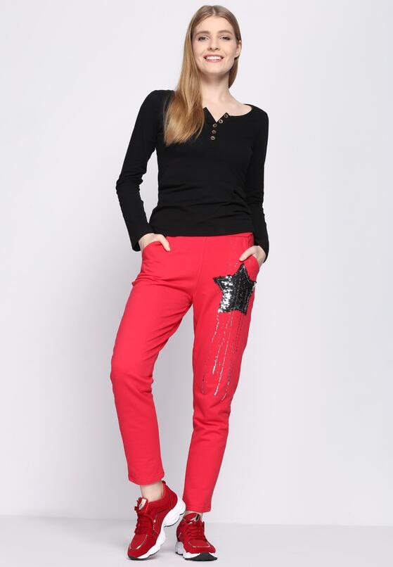 Красные Спортивные брюки