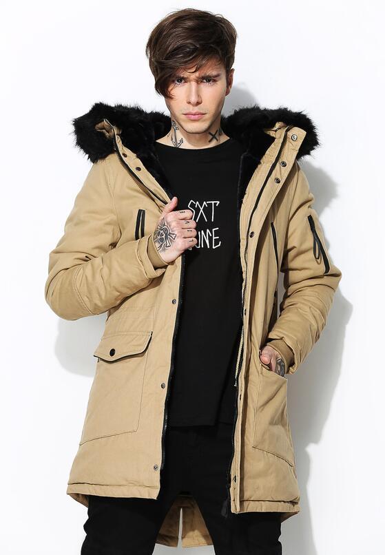 Бежевая Куртка