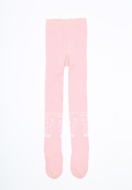Розовые Колготки