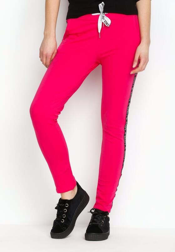 Фуксиновые Спортивные брюки