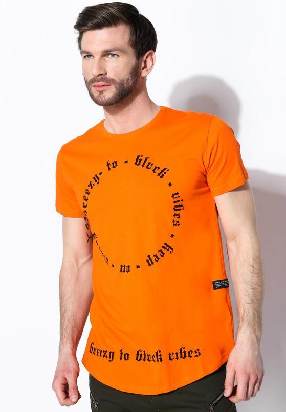 Оранжевая Футболка