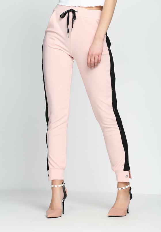 Розовые Спортивные брюки