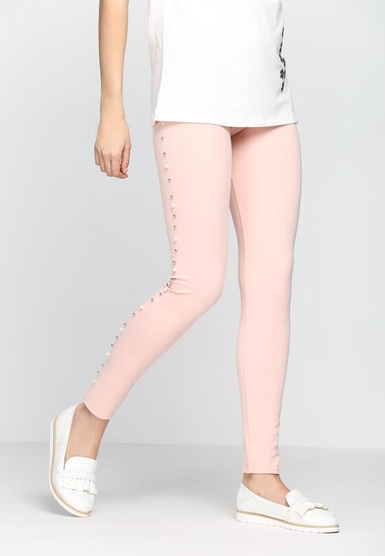 Розовые Леггинсы