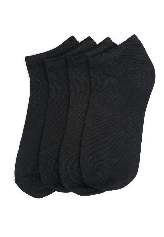 12-pack - Черные Носки