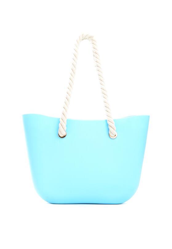 Блакитна Пляжна сумка