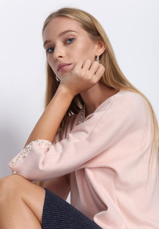 Рожевий Лонгслів