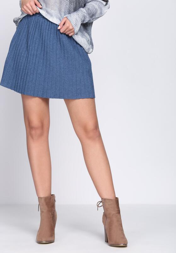 Блакитна Міні-Спідниця