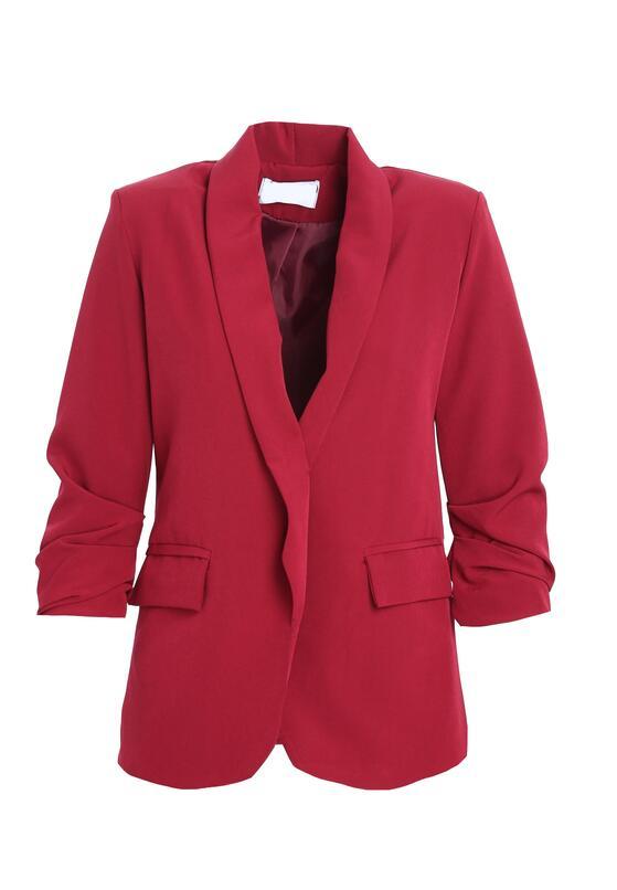 Бордовий Піджак