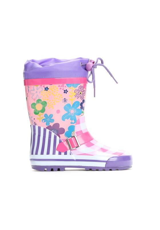 Фиолетовые Резиновые сапоги